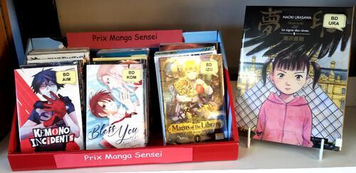 Prix Manga Sensei  : c'est reparti !