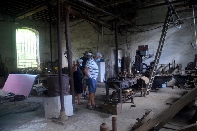 Visite guidée de l'ancienne pointerie de Chamesson