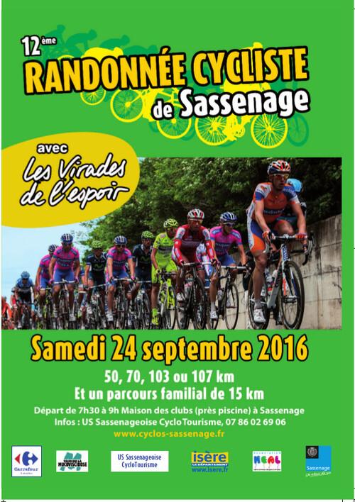 rando cicliste de Sassenage