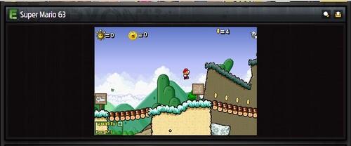 Super Mario 63 : l'un des meilleurs jeux flashs mario !