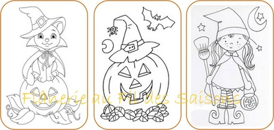 Coloriages Halloween !