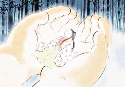 Je viens de voir le Conte de la Princesse Kaguya !