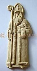 Moules à speculoos Saint Nicolas et son âne - Arts et Sculpture: sculpteur sur bois