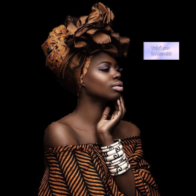 Tubes Femmes Noires