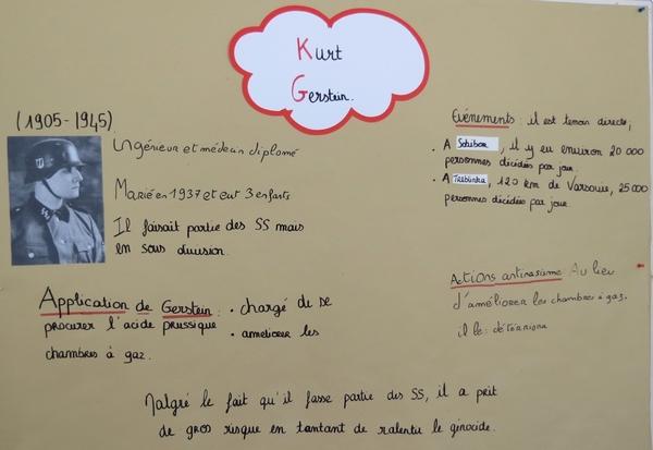"""""""Stuttgart à l'époque du nazisme à la réconciliation franco-Allemande"""", une étude réalisée par les élèves du Lycée Désiré Nisard"""