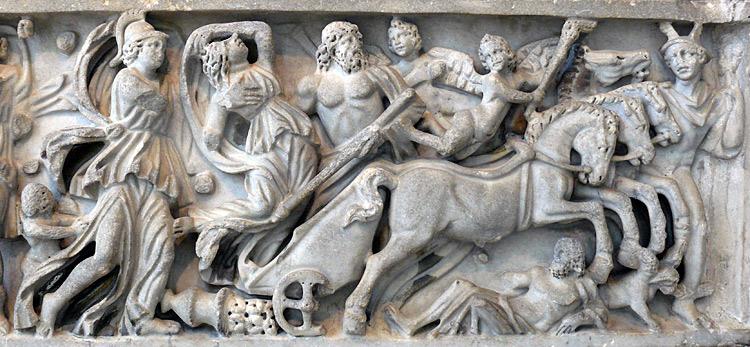 Sarcophage de l'enlèvement de Perséphone