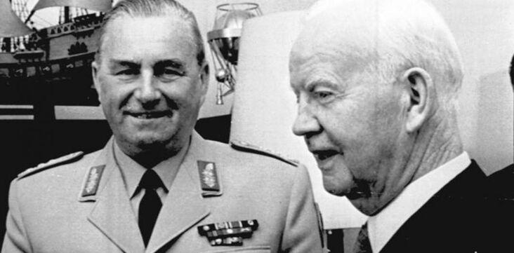 Adenauer avait d'anciens nazis dans son gouvernement