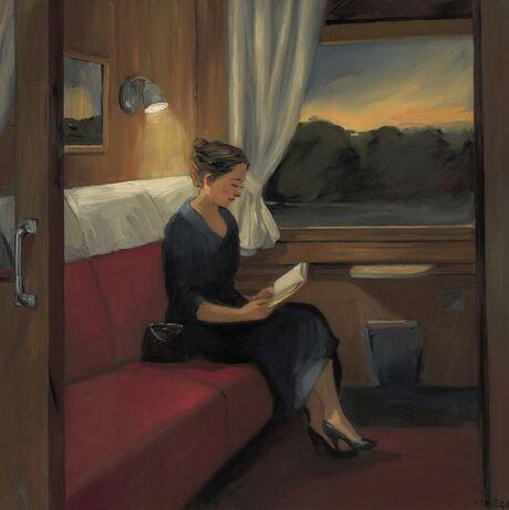09 - Femmes lisant - Peintures depuis les années 50, suite