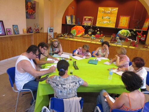 Atelier d'écriture aux Arcades