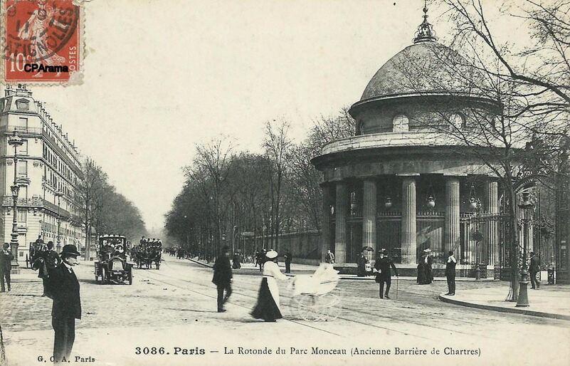 Parc Monceau : La Rotonde