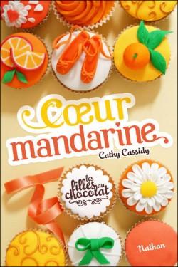 Couverture de Les filles au chocolat, Tome 3 : Coeur Mandarine