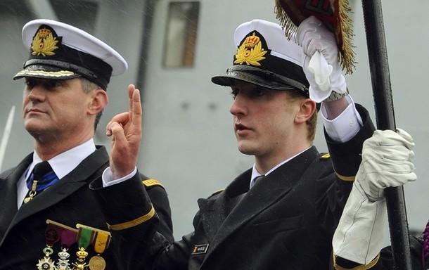 Nomination du Prince Joachim au grade d'Enseigne de Vaisseau
