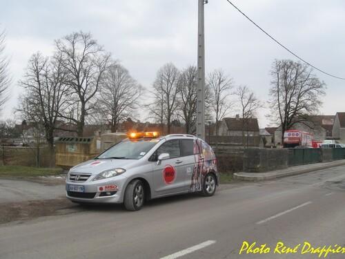 Le Rallye Londres-Cannes s'est arrêté à Vanvey