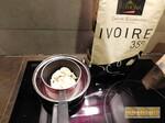 Crème au chocolat ivoire Valrhona