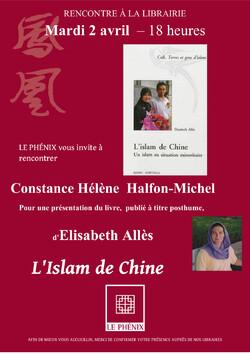 Rencontre à la librairie Le Phénix - Le 2 avril 2013