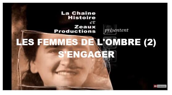 Un hommage aux femmes de la Résistance