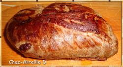 Magret de Canard Sauce Madère et Morilles