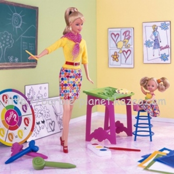 Barbie Art teacher 2002
