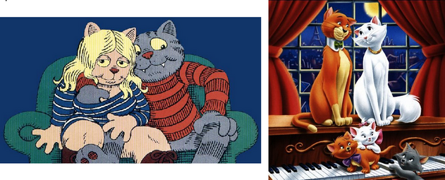 Fritz the Cat / Les Aristochats