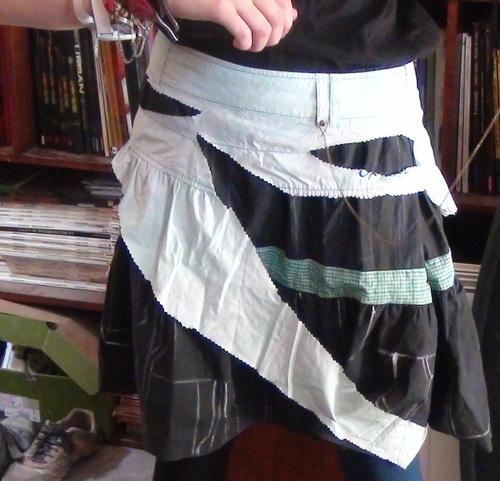 La jupe de mon cosplay Beyond Wonderland 2.0