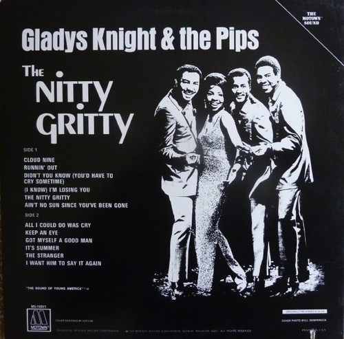 "Gladys Knight & The Pips : Album "" Nitty Gritty "" Soul Records SS 713 [ US ]"