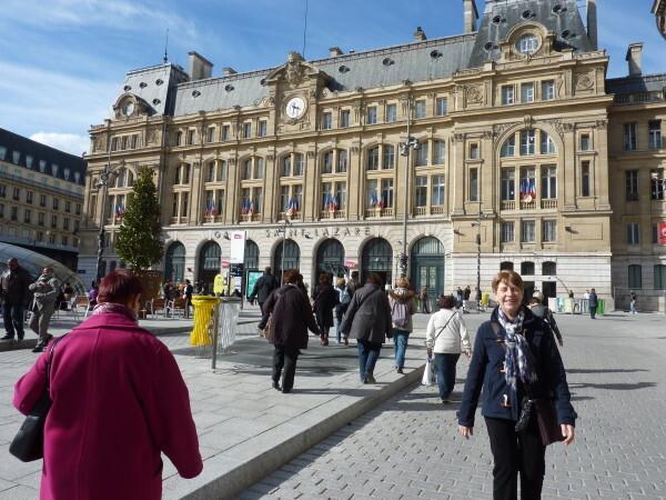 26 - La gare Saint-lazare