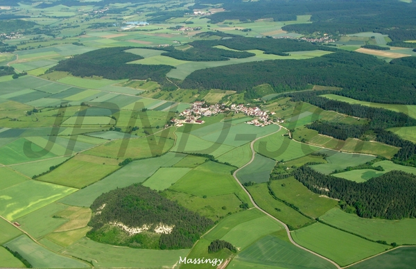 Le Châtillonnais vu du ciel, nature et cultures