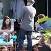 Tournage eclipse, photo Bella et Edward chez Renée et Phil