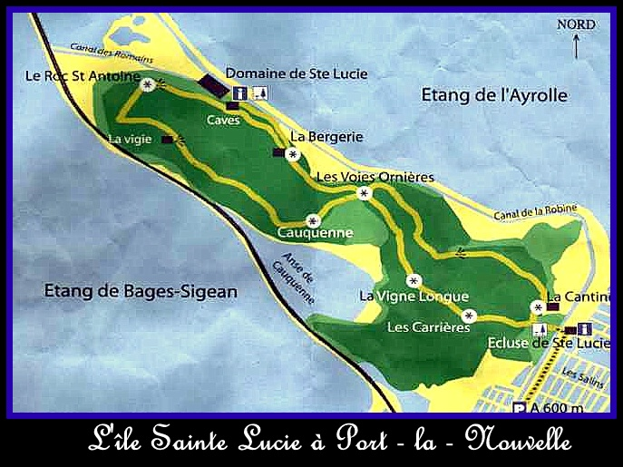 L'île Sainte Lucie....
