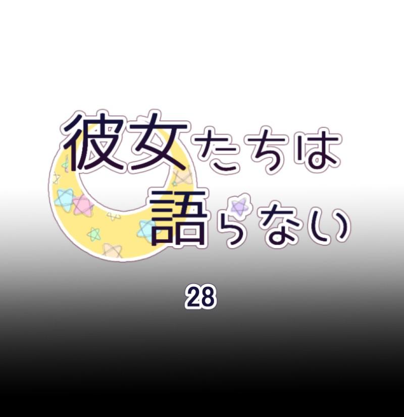 Kanojo-tachi wa Kataranai Chap 28