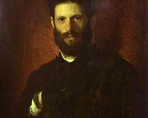 Portrait of the Sculptor Mark Antokolsky - Ivan Kramskoy