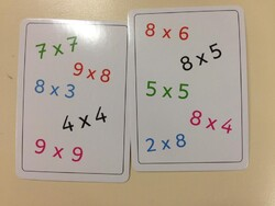 Ateliers maths : Tam tam multiplications