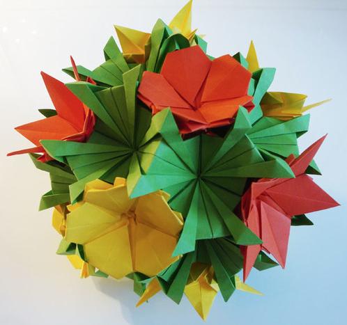 L'origami en fleur !