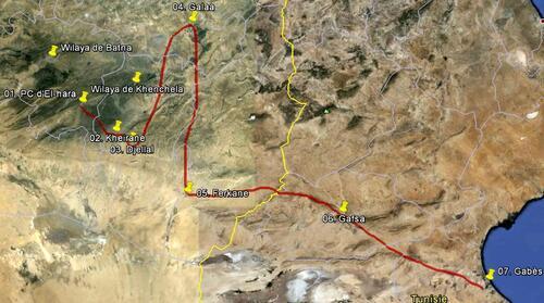Le voyage de de Mostefa Ben Boulaïd vers l'Orient