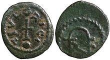 220px-Monnaie de bronze de Thierry Ier