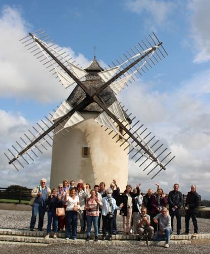 Le dernier Moulin à vent des Landes