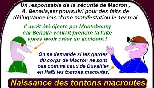 Macron s'enfonce,