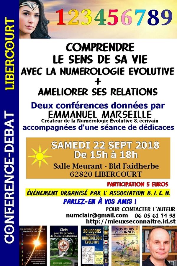 Conférences à Libercourt