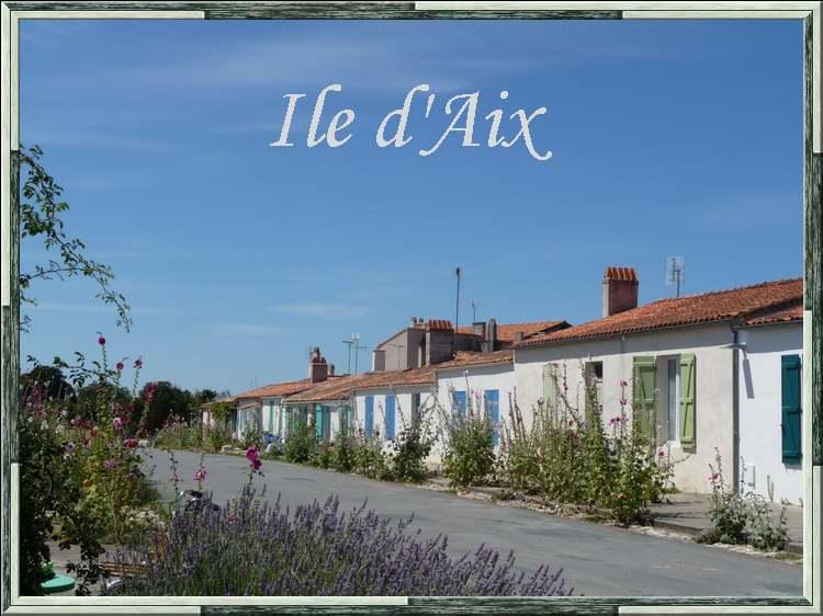 """"""" L'île aux roses """" : l'île d'Aix"""
