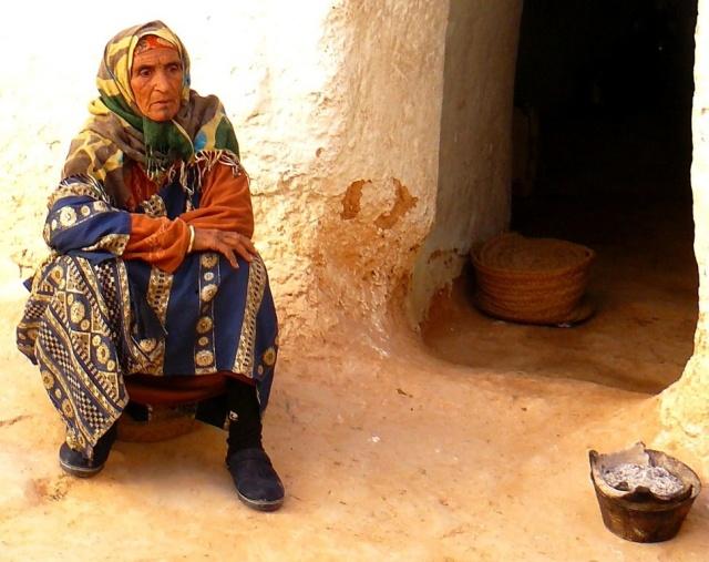 Femme Berbère Maitresse de maison à Matmata