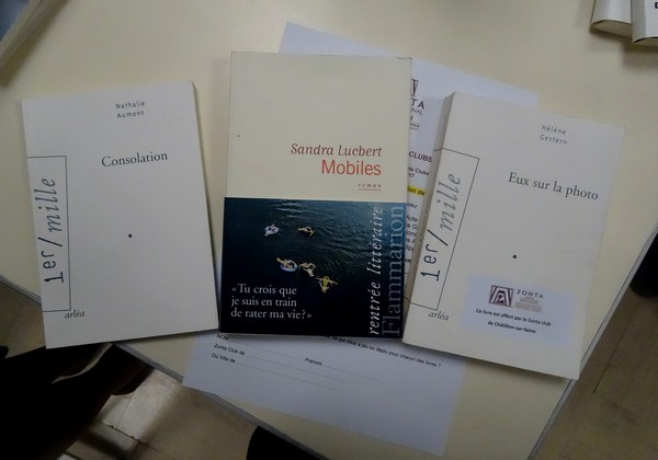 Le Zonta-Club Châtillonnais a offert des livres à la Bibliothèque pour Tous