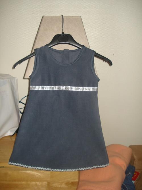 Une robe chasuble pour une jolie chouette de Noël !