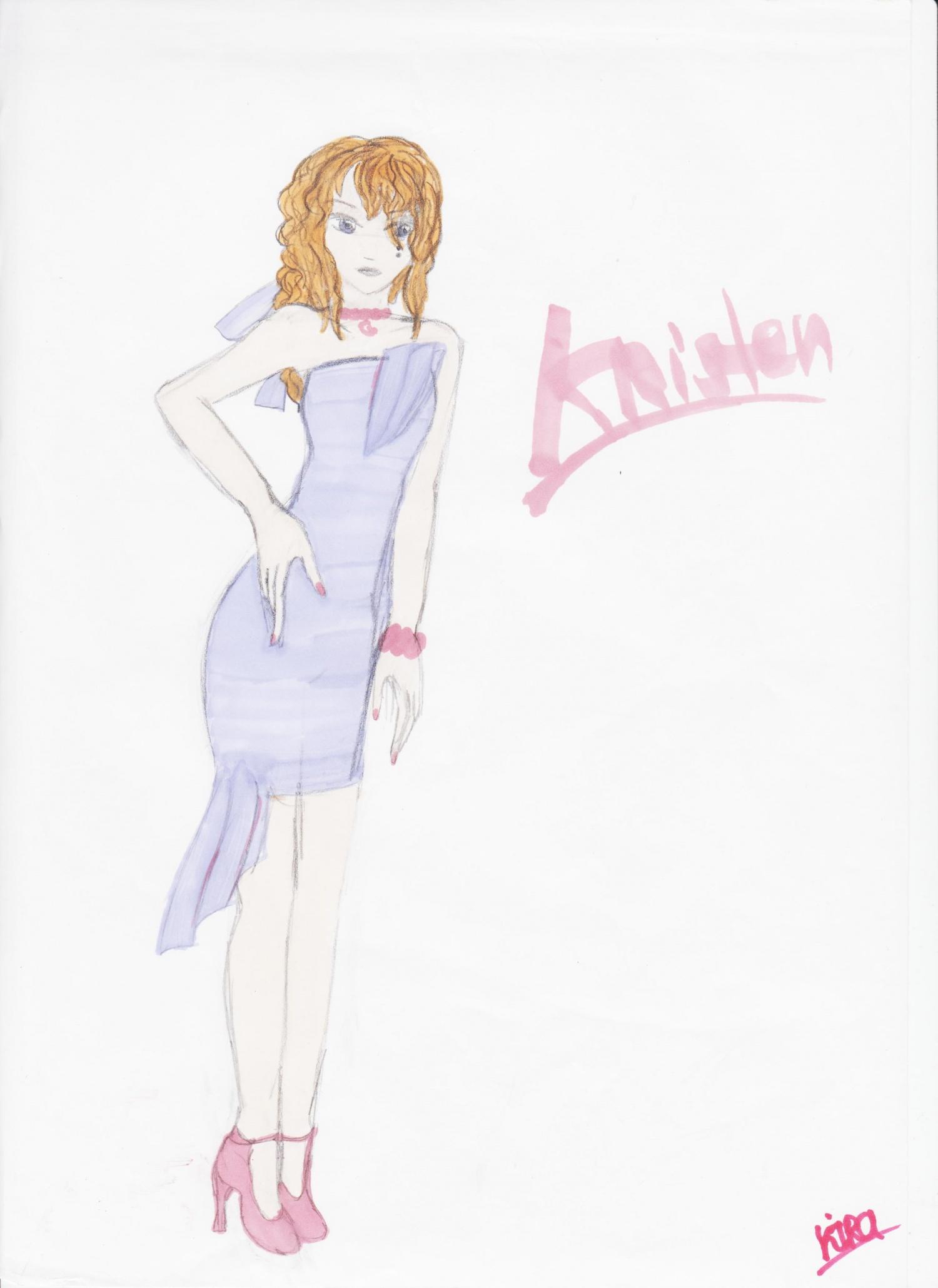 Mes dessins the demoniaque - Dessin top model ...