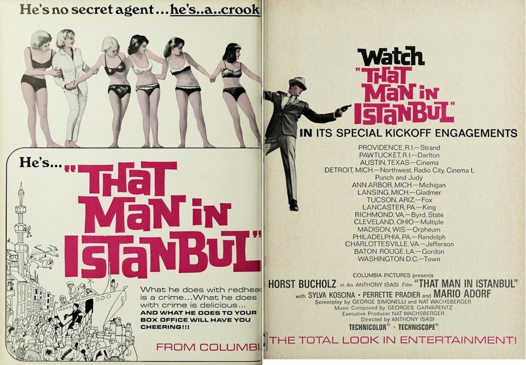 THAT MAN IN ISTANBUL BOX OFFICE USA 1966