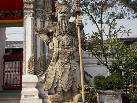 Visite du site de WAT PHO - Bangkok, le 2 janvier 2014