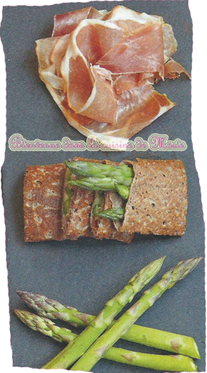 GALETTES ASPERGES