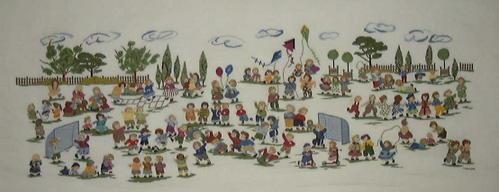 image couleurs 100 enfants