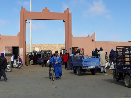 L'entrée du souk