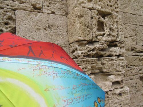 Ombrelles et lieux de culte...