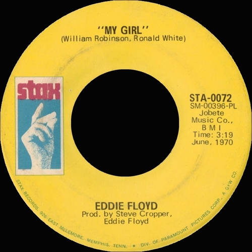 "Eddie Floyd : Album "" California Girl "" Stax Records STS-2029 [ US ]"